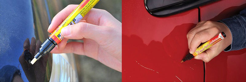 Removing car scratches