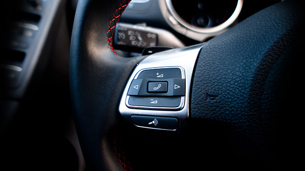 Pac steering wheel control interface